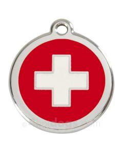 Hundetegn Swiss Cross Large