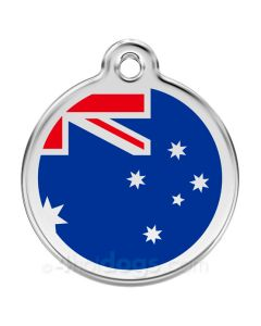 Hundetegn Australske flag Large