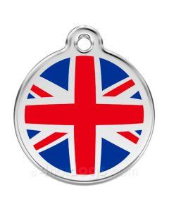 Hundetegn UK flag medium