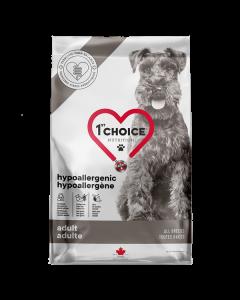 1st choice hyperallergi hundefoder