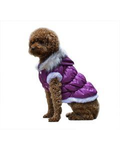 Fashion hunde Vinterjakke - Lilla