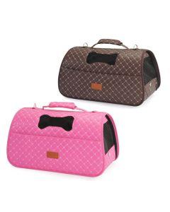 Lækker transport taske til den lille hund