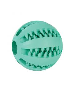 Denne smarte Denta bold er ikke bare etsjovt legetøj for din hund, men også en et godtredskab til at pleje din hunds tænder og tandkød.