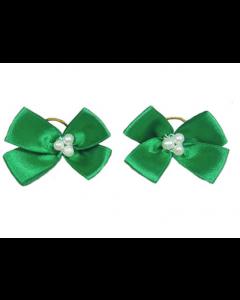 Hårsløjfe Green - 2 stk