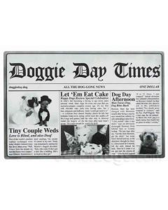 Doggie Day Times skåleunderlag