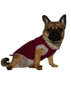Håndlavet hundesweater
