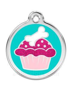 Hundetegn Glimmer - cupcake medium