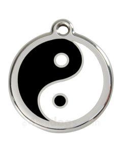 Hundetegn Yin Yang medium