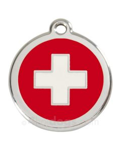 Hundetegn Swiss Cross small