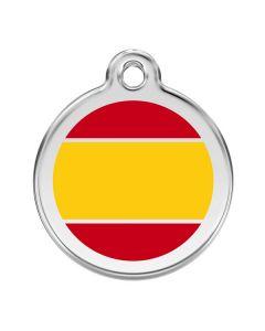 Hundetegn Spansk flag medium