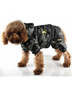 Camouflage hundedragt Army - XS