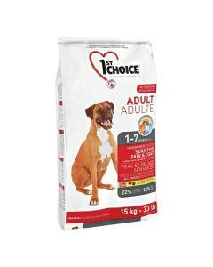 1st Choice Voksen hundefoder Lam & Brune Ris, 15 kg