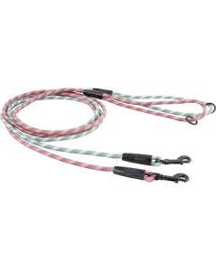 Hurtta Outdoors Mountain Rope førerline, 6 mm-Grå