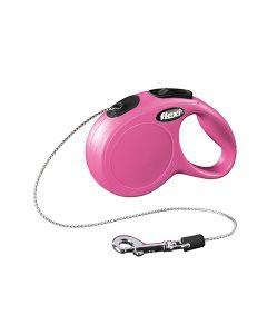 Flexi New Classic Pink - Snor 8 m