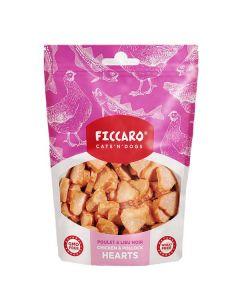 Ficcaro kylling og sej hundegodbidder, 100g