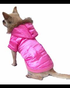 Dog Coat - Lyserød - XL
