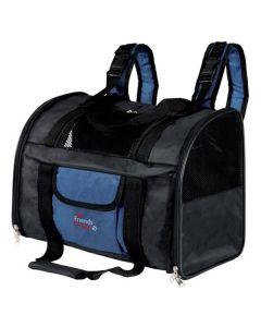 Rygsæk og transporttaske i en