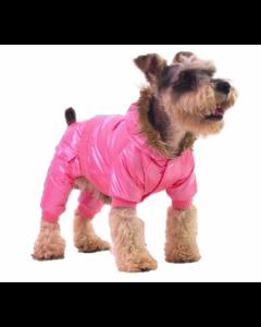 Vinterdragt m. hætte - Pink - XS